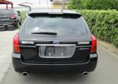 2003 Subaru Legacy 2.0 Bp5 GT Turbo Twinscroll Spec B 4WD Auto Estate (S5), Rear View. Japanese import cars.