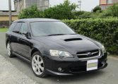 2003 Subaru Legacy 2.0 Bp5 GT Turbo Twinscroll Spec B 4WD Auto Estate (S5), Front View, Drivers Side. Japanese imports.