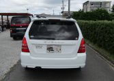 2004 Subaru Forester 2.0 4WD Cross Sports Turbo Sg5 Estate (S12), Rear View. Japanese import cars.