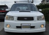 2004 Subaru Forester 2.0 4WD Cross Sports Turbo Sg5 Estate (S12), Front View. Jap imports.