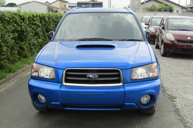 2005 Subaru Forester 2.0 Sg5 Xt Wr Ltd Edn Turbo 4wd Auto Estate (S1), Front View. Jap imports.