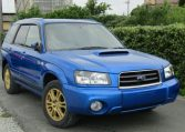 2005 Subaru Forester 2.0 Sg5 Xt Wr Ltd Edn Turbo 4wd Auto Estate (S1), Front View, Drivers Side. Japanese imports.