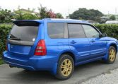 2005 Subaru Forester 2.0 Sg5 Xt Wr Ltd Edn Turbo 4wd Auto Estate (S1), Rear View, Drivers Side. Jap imports UK.