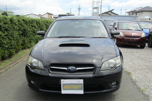 2005 Subaru Legacy 2.0 Bp5 Gt Turbo 4WD Auto Estate (S77), Front View. Jap imports.