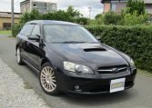 2005 Subaru Legacy 2.0 Bp5 Gt Turbo 4WD Auto Estate (S77), Front View, Drivers Side. Japanese imports.