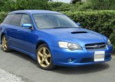 2005 Subaru Legacy 2.0 Bp5 Gt Wr Ltd Edn Turbo 4wd Auto Estate (S9), Front View, Drivers Side. Japanese imports.