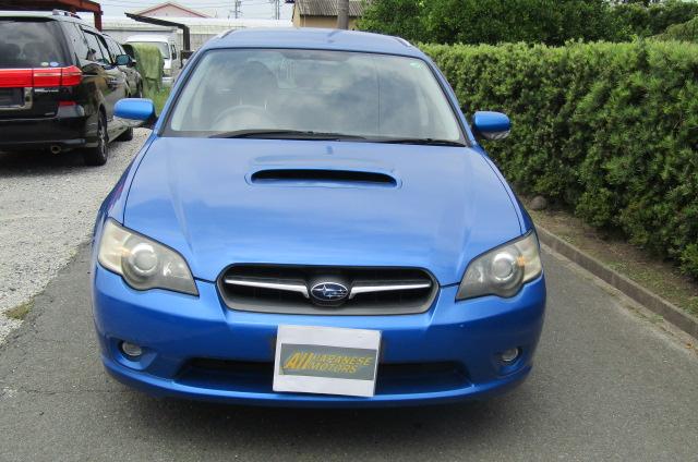 2005 Subaru Legacy 2.0 Bp5 Gt Wr Ltd Edn Turbo 4wd Auto Estate (S9), Front View. Jap imports.