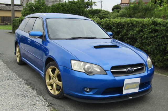 2005 Subaru Legacy 2.0 Bp5 Gt Wr Ltd Edn Turbo 4wd Auto Estate(S65), Front View, Drivers Side. Japanese imports.