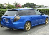 2005 Subaru Legacy 2.0 Bp5 Gt Wr Ltd Edn Turbo 4wd Auto Estate(S65), Rear View, Drivers Side. Jap imports UK.