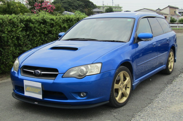 2005 Subaru Legacy 2.0 Bp5 Gt Wr Ltd Edn Turbo 4wd Auto Estate(S65), Front View, Passengers Side. Japanese imports for sale.
