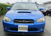 2005 Subaru Legacy 2.0 Bp5 Gt Wr Ltd Edn Turbo 4wd Auto Estate(S65), Front View. Jap imports.