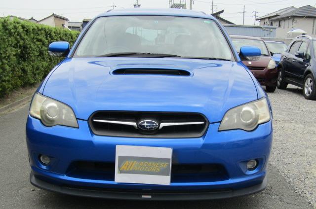 2005 Subaru Legacy 2.0 Bp5 Gt Wr Ltd Edn Turbo 4wd Auto Estate(S65), Front View. Jap imports.