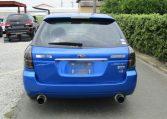 2005 Subaru Legacy 2.0 Bp5 Gt Wr Ltd Edn Turbo 4wd Auto Estate(S65), Rear View. Japanese import cars.