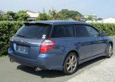 2006 Subaru Legacy 2.0 4WD GT Turbo Auto Estate (S55), Rear View, Drivers Side. Jap imports UK.