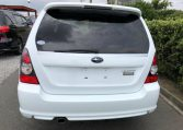 2007 Subaru Forester 2.0 Sg5 Cross Sports Turbo Facelift 4wd Auto Estate (S87), Rear View. Japanese import cars.