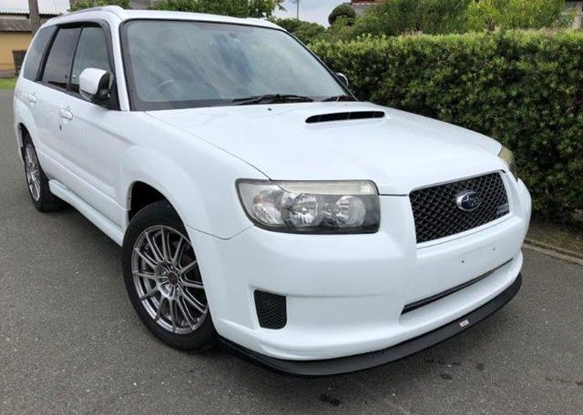 2007 Subaru Forester 2.0 Sg5 Cross Sports Turbo Facelift 4wd Auto Estate (S87), Front View, Drivers Side. Japanese imports.