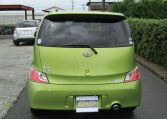 2007 Toyota Bb 1.3 Q Version Auto 5 Dr Hatchback (B38), Rear View. Japanese import cars.