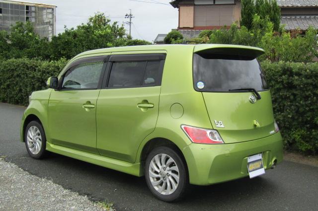 2007 Toyota Bb 1.3 Q Version Auto 5 Dr Hatchback (B38), Rear View, Passengers Side. Jap imports UK.