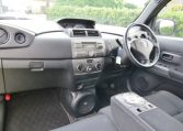 2007 Toyota Bb 1.3 Q Version Auto 5 Dr Hatchback (B38), Interior View Dashboard & Steering Wheel. Import Japanese cars uk.