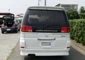 1999 Nissan Elgrand 3.3 Rider Optional 4wd Auto 8 Seater MPV (E67), Rear View. Japanese import cars.