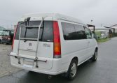 1999 Honda Stepwagon 2.0 Auto Fielddeck Weekender Pop Top 8 Seater MPV (H54), Rear View, Drivers Side