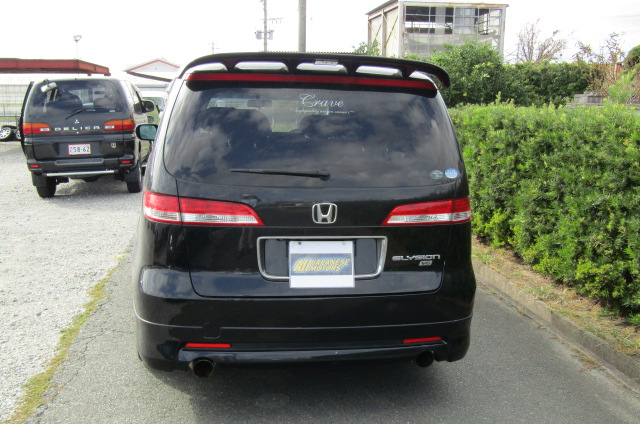 2004 Honda Elysion 3.0 V6 Vg Aero Auto 8 Seater MPV (H47), Rear View