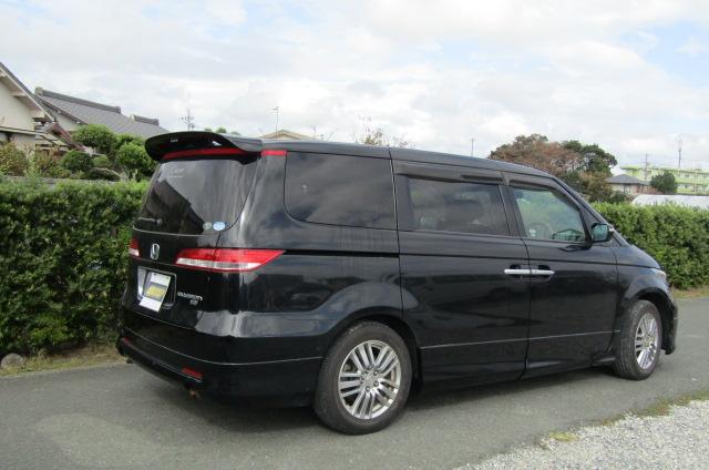 2004 Honda Elysion 3.0 V6 Vg Aero Auto 8 Seater MPV (H47), Rear View, Drivers Side