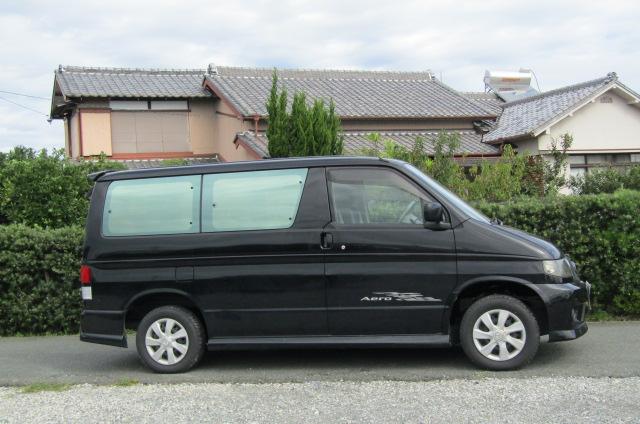 2005 Mazda Bongo 2.0 Aero Friendee Facelift 8 Seater MPV (B7), Side View, Drivers Side
