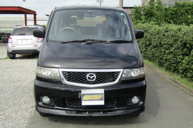 2005 Mazda Bongo 2.0 Aero Friendee Facelift 8 Seater MPV (B7), Front View. Jap imports.