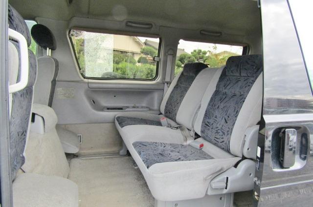 2005 Mazda Bongo 2.0 Aero Friendee Facelift 8 Seater MPV (B7), Interior View Rear Seats