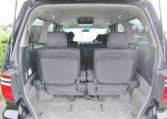 2005 Toyota Alphard 3.0 V6 Facelift Auto 8 Seater MPV (L44), Interior View Rear Seats Down For Storage. Japanese import cars for sale.