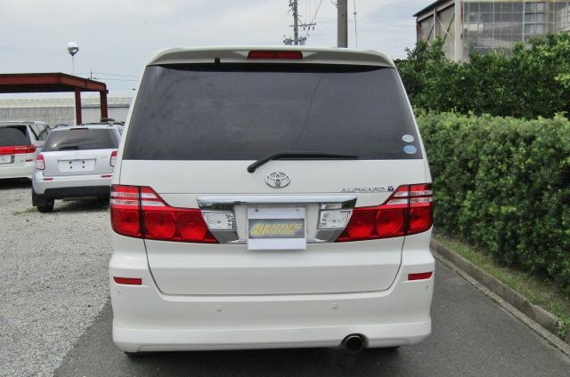 2006 Toyota Alphard 2.4 Ax Ltd Edn Facelift Auto 8 Seater MPV (L64), Rear View. Japanese import cars.