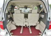 2006 Toyota Alphard 2.4 Ax Ltd Edn Facelift Auto 8 Seater MPV (L64), Interior View Rear Seats Down For Storage. Japanese import cars for sale.