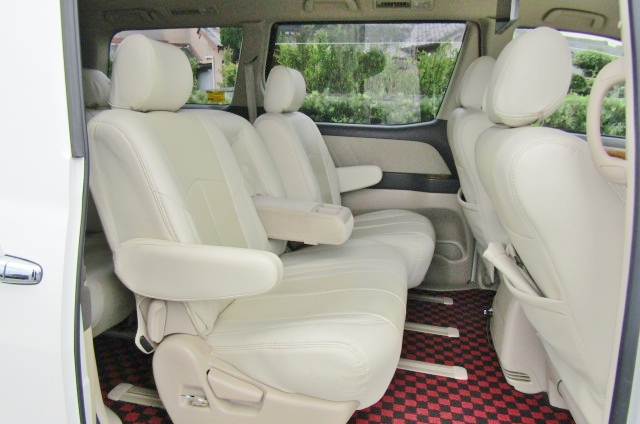 2006 Toyota Alphard 2.4 Ax Ltd Edn Facelift Auto 8 Seater MPV (L64), Interior View Rear Seats. Jap imports.