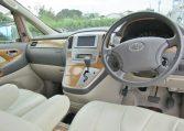2006 Toyota Alphard 2.4 Ax Ltd Edn Facelift Auto 8 Seater MPV (L64), Interior View Dashboard & Steering Wheel. Import Japanese cars uk.