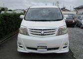 2006 Toyota Alphard 2.4 Ltd Edn Facelift Auto 8 Seater MPV (L95), Front View. Jap imports.