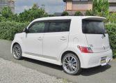 2006 Toyota Bb 1.5 Zq Version 5 Dr Hatchback (B75), Rear View, Passengers Side. Jap imports UK.