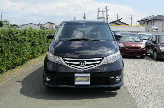 2007 Honda Elysion 3.0 4WD VG Aero Special Pkg Auto 8 Seater MPV (H1), Front View, Jap imports from KV Cars Ltd.