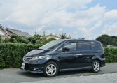 2007 Honda Elysion 3.0 4WD VG Aero Special Pkg Auto 8 Seater MPV (H1), Front View, Passengers Side, Japanese import cars at KV Cars.