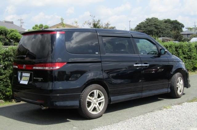 2007 Honda Elysion 3.0 4WD VG Aero Special Pkg Auto 8 Seater MPV (H1), Rear View, Drivers Side