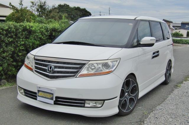 2007 Honda Elysion 3.5 V6 Prestige SG Auto 8 Seater MPV (H52), Front View, Passengers Side, Japanese import cars at All Japanese Motors.