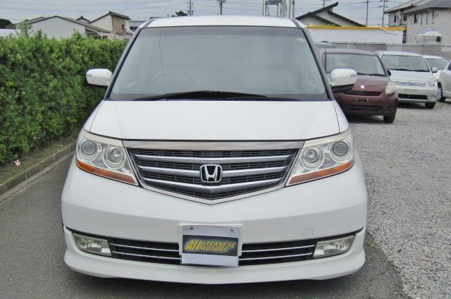2007 Honda Elysion 3.5 V6 Prestige SG Auto 8 Seater MPV (H52), Front View, Jap imports from KV Cars Ltd.