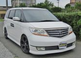 2007 Honda Elysion 3.5 V6 Prestige SG Auto 8 Seater MPV (H52), Front View, Drivers Side, Japanese imports by KV Cars.