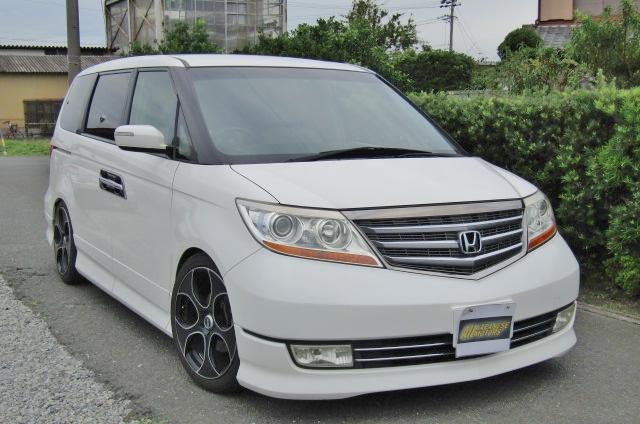 2007 Honda Elysion 3.5 V6 Prestige SG Auto 8 Seater MPV (H52), Front View, Drivers Side, Japanese imports by KV Cars.
