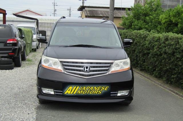 2008 Honda Elysion 2.4 S Prestige Facelift Rr1 7 Seater MPV (H69), Front View, Jap imports from KV Cars Ltd.