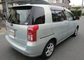 2008 Toyota Raum 1.5 4wd G Pkg 5 Seater Auto 5 DR Hatchback (N79), Rear View, Drivers Side