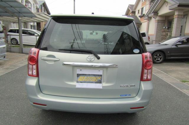 2008 Toyota Raum 1.5 4wd G Pkg 5 Seater Auto 5 DR Hatchback (N79), Rear View