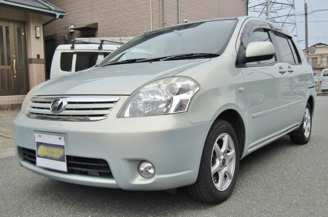 2008 Toyota Raum 1.5 4wd G Pkg 5 Seater Auto 5 DR Hatchback (N79), Front View, Passengers Side