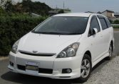 2008 Toyota Wish 1.8 Xs Pkg Auto Optional 4wd 7 Seater MPV (J63), Front View, Passengers Side