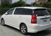 2008 Toyota Wish 1.8 Xs Pkg Auto Optional 4wd 7 Seater MPV (J63), Rear View, Passengers Side